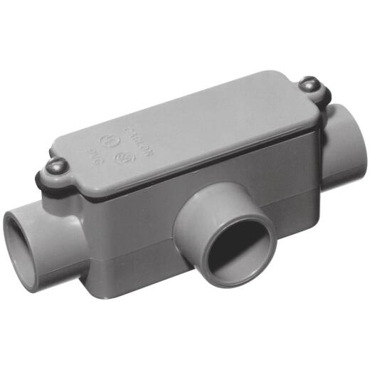Carlon 3/4 In. PVC T Access Fitting
